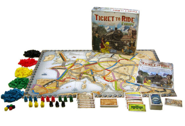 Ticket To Ride Europe Edition Family Board Game Brand New and Sealed