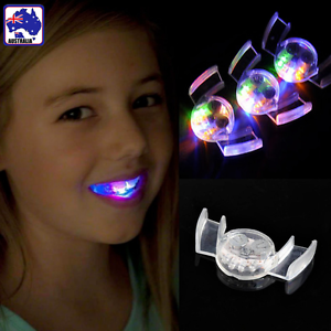 Details About Led Light Mouth Guard Mouthpiece Flashing Piece Party Glow In The Dark Gspt67401