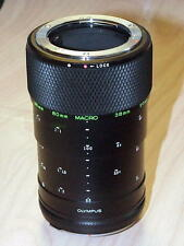 OLYMPUS OM ZUIKO 65-116 TELESCOPIC MACRO EXTENSION TUBE FOR 20mm 38mm 80mm 135mm