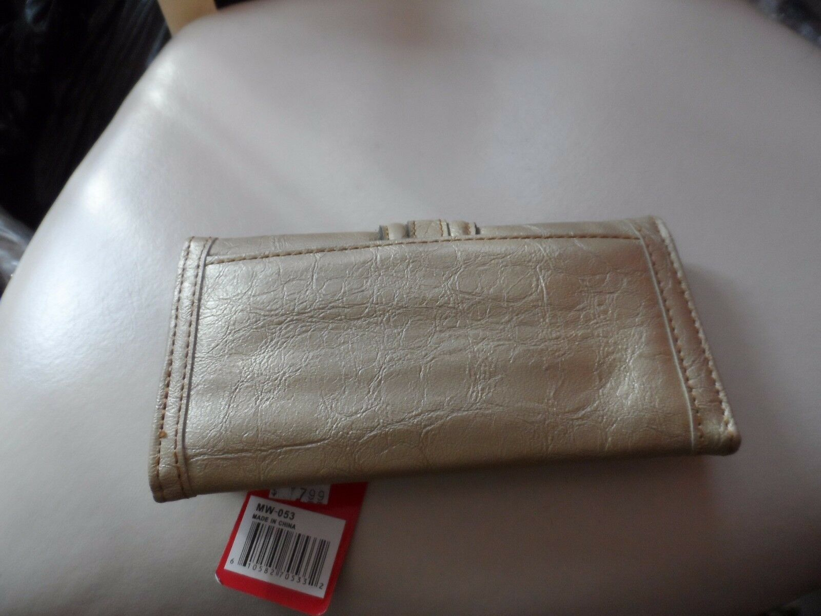 Gold clutch wallet by Melrose NWT