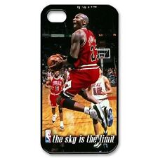 JORDAN CASE FOR IPHONE 4/4G/4S RUBBER SILICONE SKIN MICHAEL SKY COVER LIMIT NEW
