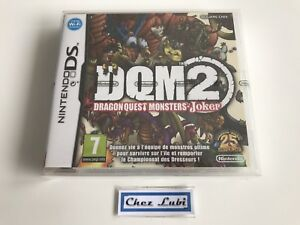DQM-2-Dragon-Quest-Monsters-Joker-Nintendo-DS-FR-Neuf-Sous-Blister