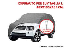 Telo Copriauto Copri SUV felpato Impermeabile Tg L Opel Monterey