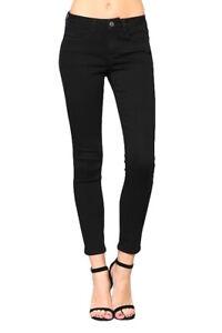 Skinny Black di Flying Super Vt136 Mid Rise Stretch Vervet Monkey Jeans Ivy vaCnIZwvq