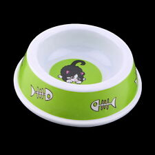 Plastic Pet Dog Cat Puppy Go Slow Eating Feed Bowl Food Water Feeder Dish MC