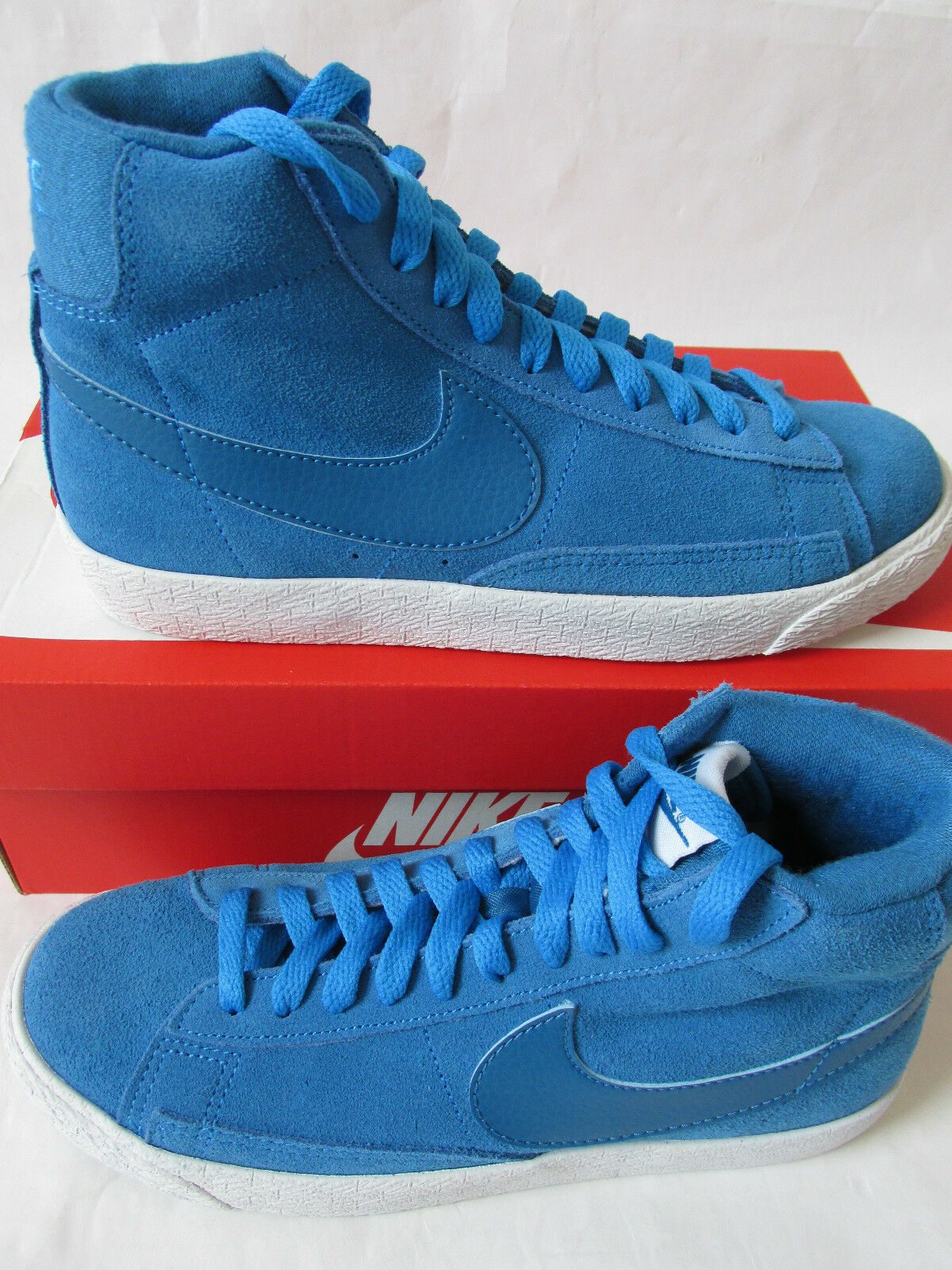 Nike blazer mid top vintage (GS) hi top mid trainers 539929 441 Turnschuhe schuhe 779689