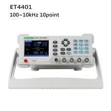 Et4401 Desktop Digital Bridge Capacitance Resistance Impedance Inductance Meter