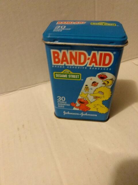 Sesame Street Bandaid Tin 1992