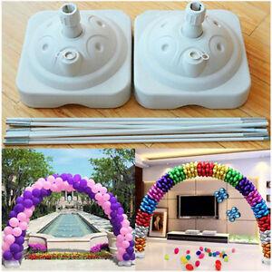 Large Floor Standing DIY Balloon Arch Kit For Outdoor / Indoor Weddings, Proms