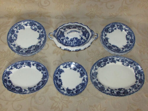 Antique T.R. & Co. T T. Rathbone & Co Pottery 20 Pieces Set 1898 1923