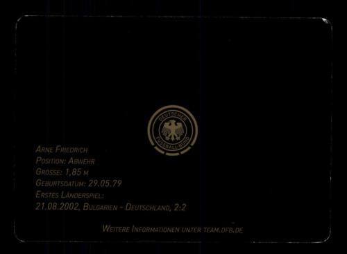 Karte Original Signiert+A 137385 Arne Friedrich DFB Autogrammkarte 2010 2