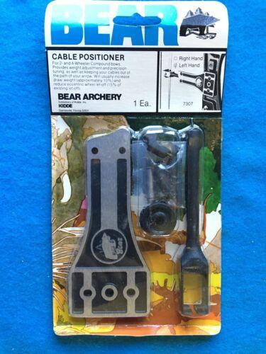VINTAGE BEAR ARCHERY Câble positionneur #7307 à Gauche 2 /& 4 Wheeler Compound Bow