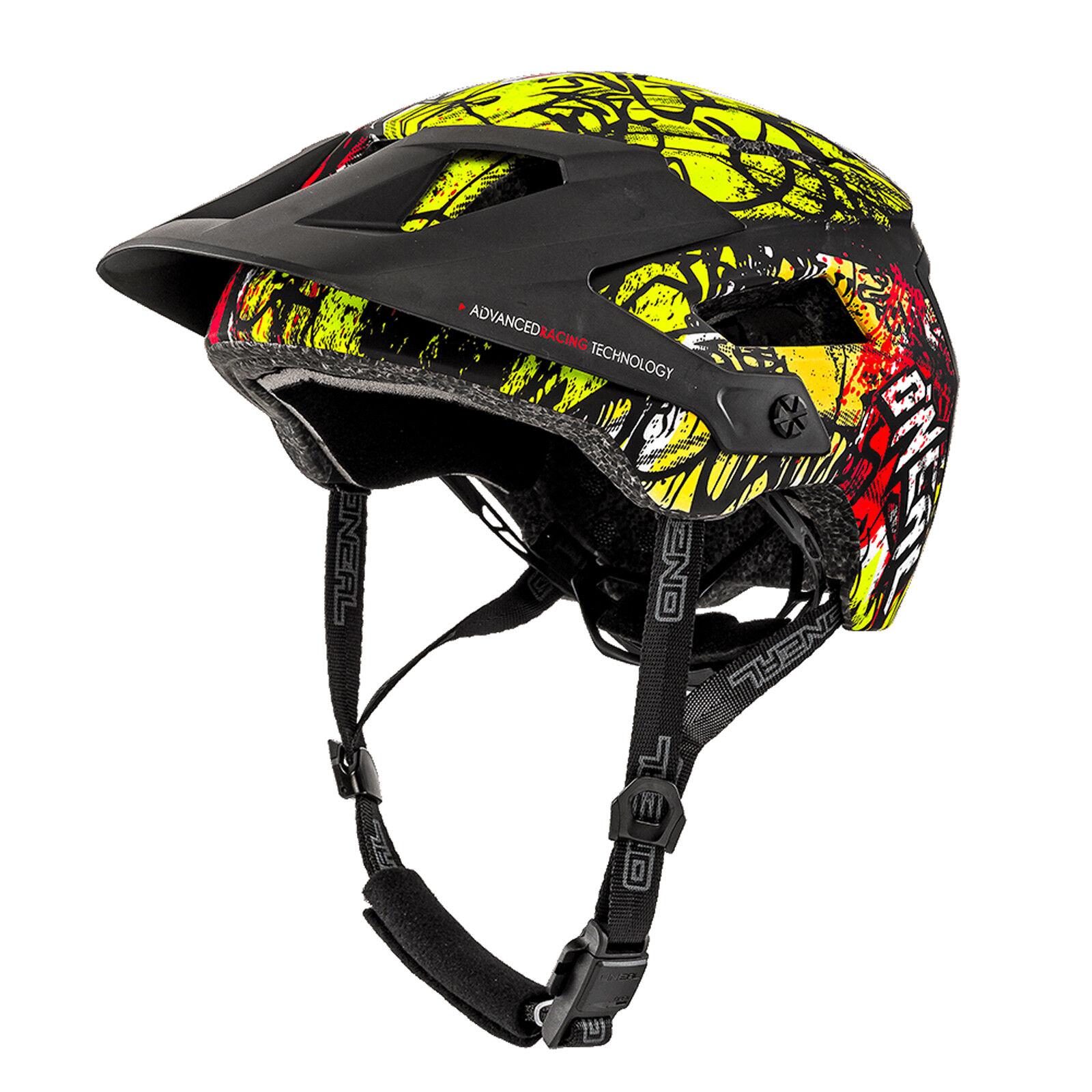 O'neal Defender Defender Defender 2.0 Vandal All Mountain MTB Fahrrad Helm schwarz Orange gelb 201 9e6940