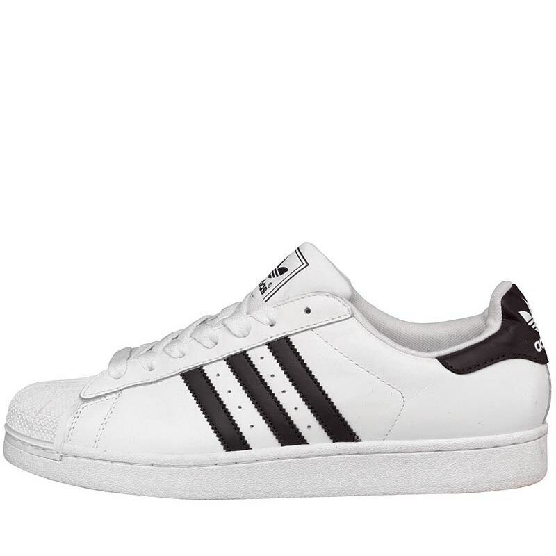 f2bee42b9f1 adidas Superstar 11 Orginals Range Mens Fashion Trainers White black US 7.5