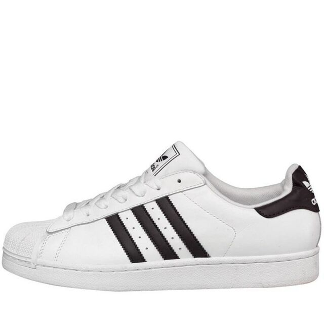 Adidas Superstar 2 II Scarpe Uomo 47 Sneaker Stan Pelle Smith Vulc Top Ten | eBay