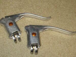 NOS pair gold dot dia compe brake levers bicycle bike parts