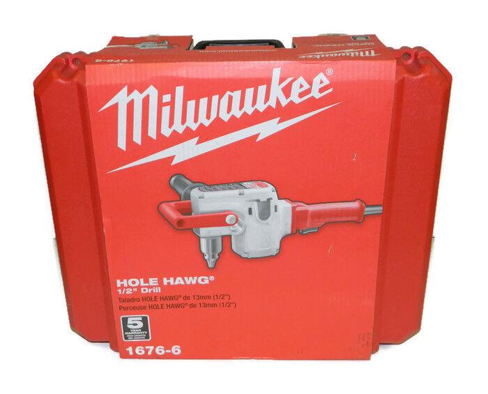 Milwaukee 1676-6 1 2  Hole-Hawg Drill