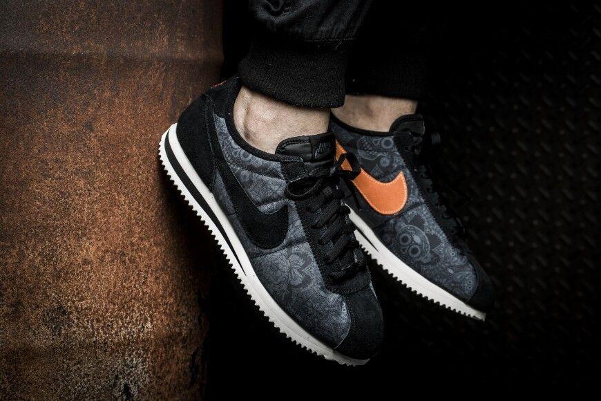 Nike cortez base ridotta qs 8 morti halloween il giorno dei morti 8 di colore arancione disney coco 172d7a