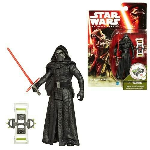3 3//4-Inch Star Wars Kylo Ren Jungle and Space Action Figure TFA
