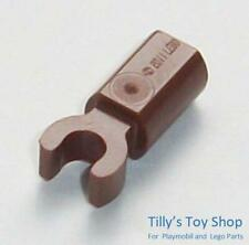 11090 New !! Lego 10x Reddish Brown Bar Holder with Clip