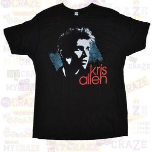 KRIS-ALLEN-American-Idol-Winner-Official-Mens-Black-T-Shirt