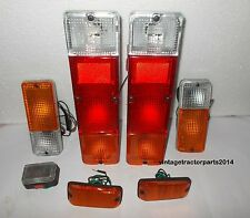 SUZUKI SJ413 BRAKE TAIL LIGHT TURN SIDE MARKER FRONT BUMPER SET SAMURAI 1986-95