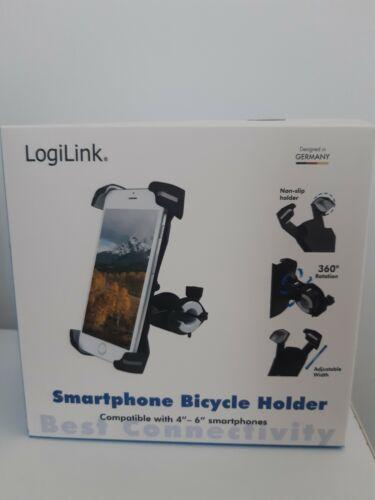vélo trottinette à double verrouillage Support de téléphone smartphone Logilink