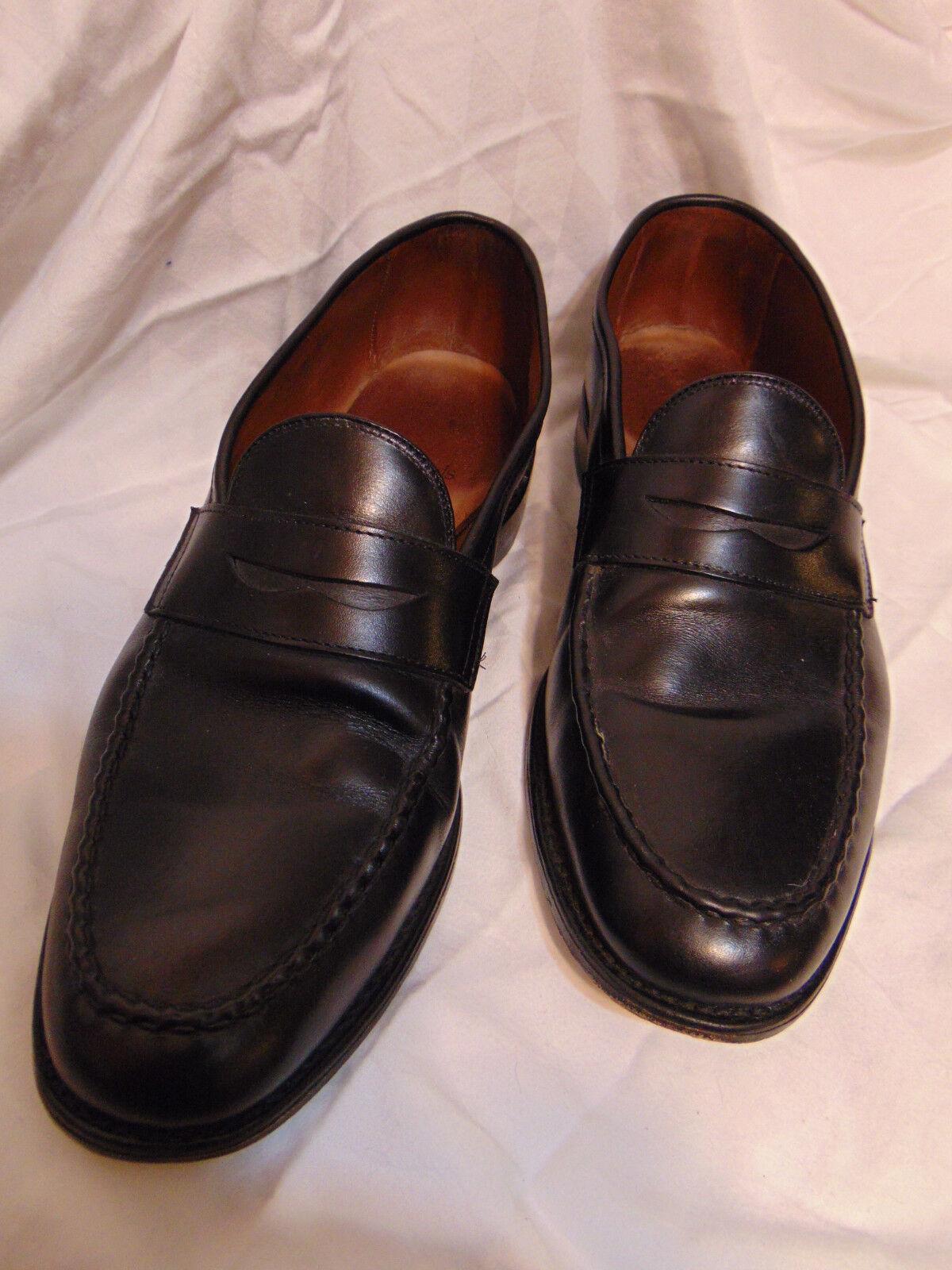 Allen Edmonds McGraw Homme Penny Mocassins Style Chaussures 10.5 D en cuir noir USA