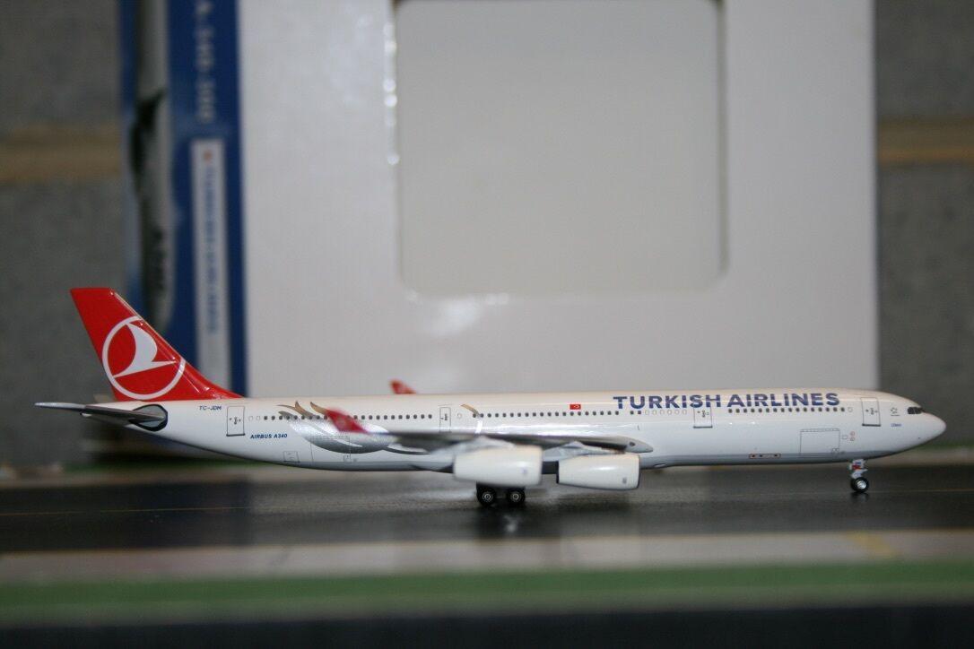 Aeroclassics 1 400 Turkish Airlines Airbus A340-300 TC-JDM (ACTCJDM) Die-Cast
