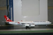 Aeroclassics 1:400 Turkish Airlines Airbus A340-300 TC-JDM (ACTCJDM) Die-Cast
