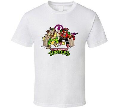 TMNT Bebop And Rocksteady Cartoon T Shirt
