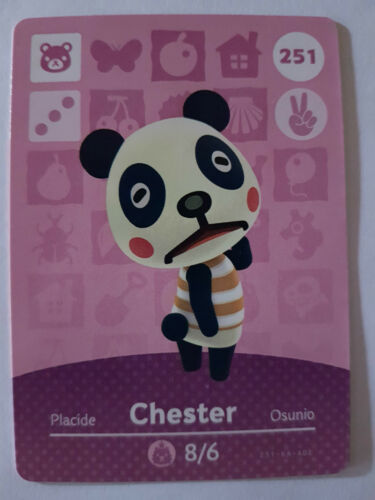 Animal Crossing Happy Home Designer Amiibo Card