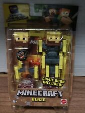 Mattel Minecraft Phantom And Alex Comic Included New
