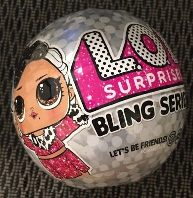 L.O.L Bling Series LOL Dolls Christmas Gift 2018 NEW Ball Doll Set Surprise