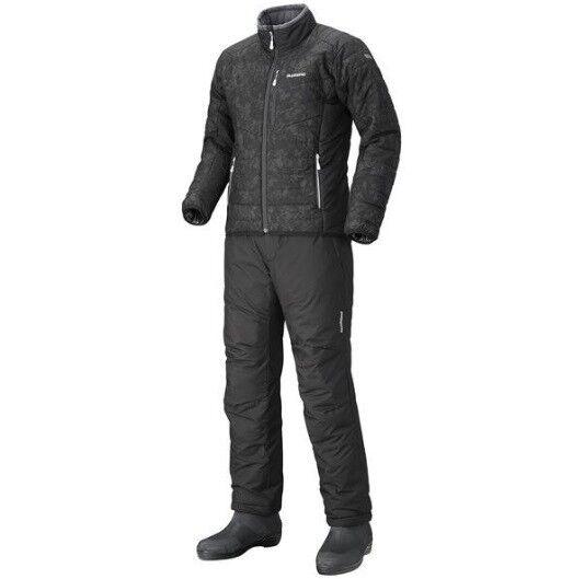 Shimano invierno Suit thermoanzug CHAQUETA + PANTALÓN Insulation traje de invierno 2 piezas