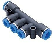 Pneumatic-Push-In-Air-Fittings-5-x-Reducer-Triple-8mm-to-6mm