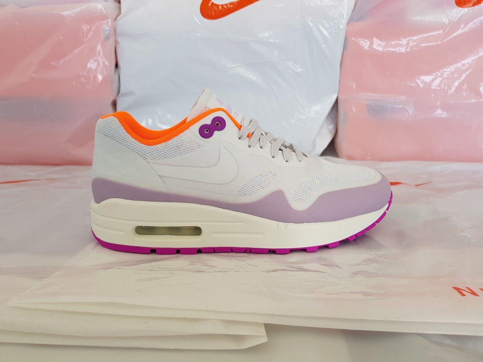 Nike WMNS Air Max Größe 1 NS Damen Schuhe Größe Max 36 White Violette Orange 844982-101 700c30