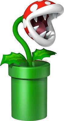 Choose Size - PIRANHA PLANT WARP PIPE SUPER MARIO Decal Removable WALL STICKER