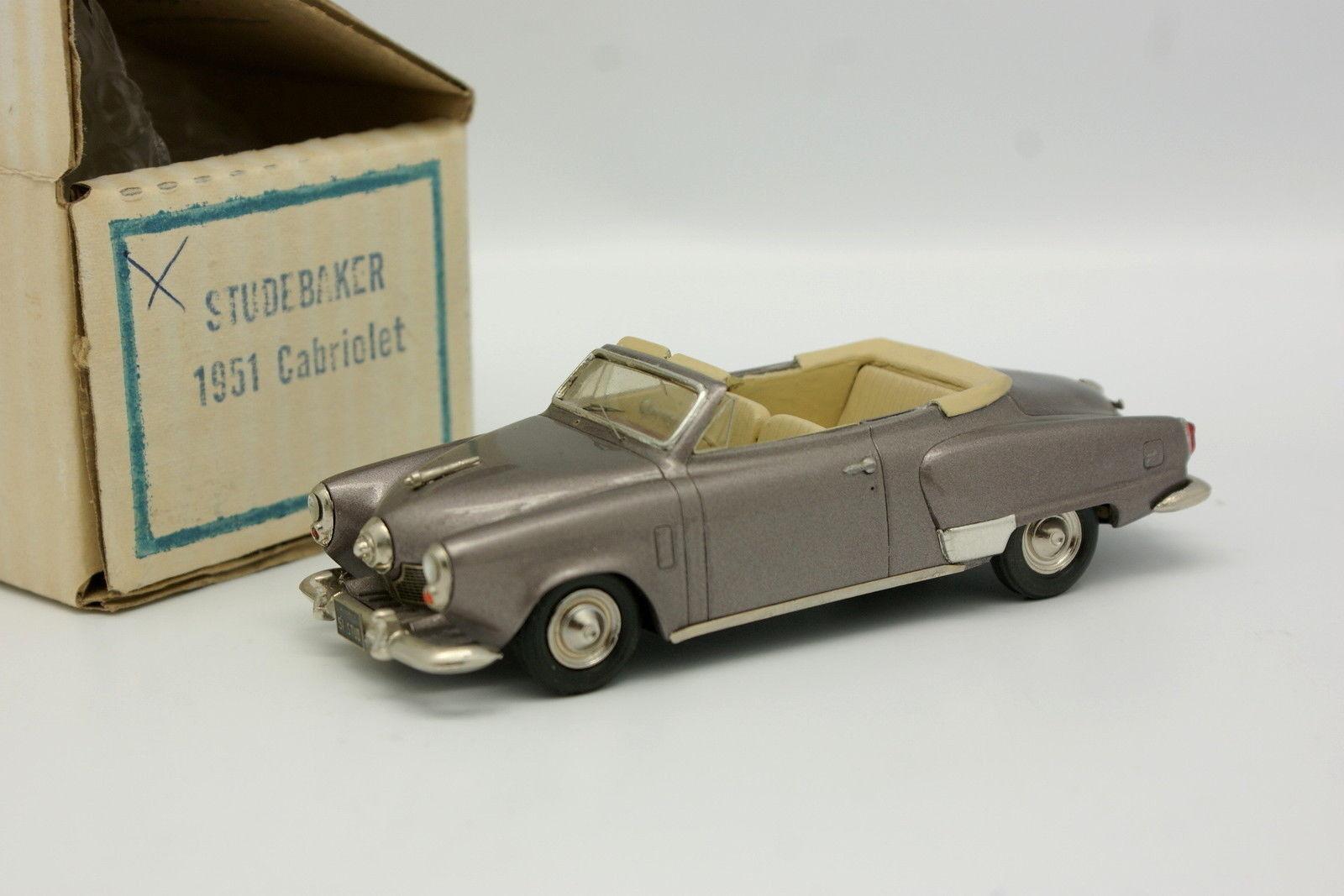 Provence moulage kit assembled 1 43 - studebaker land cruiser 1951 cabriolet