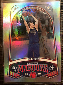 2019-2020-LUKA-DONCIC-Panini-Chronicles-Marquee-SILVER-PARALLEL-254-Mavericks