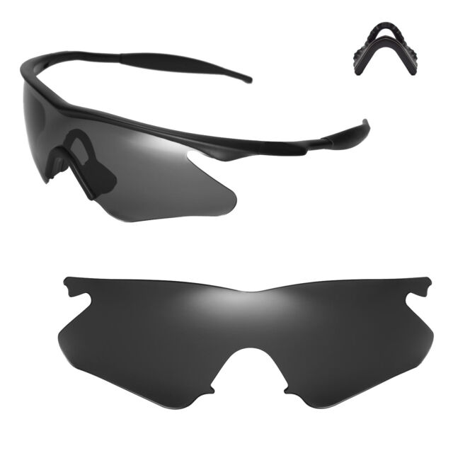 Walleva Black Replacement Lenses for Oakley M Frame Heater ...