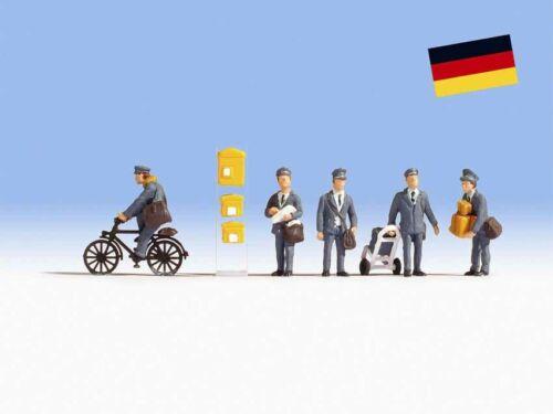 5 Figuren NEU in OVP Zubehör NOCH 15088 Briefträger Deutschland
