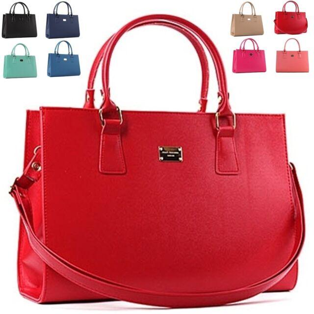 Women Tote Shoulder Bag Women Handbag Woman Bag Zipper Closure Faux Leather N143