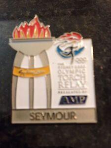 SEYMOUR-Sydney-2000-Olympic-Torch-Relay-AMP-sponsor-pin
