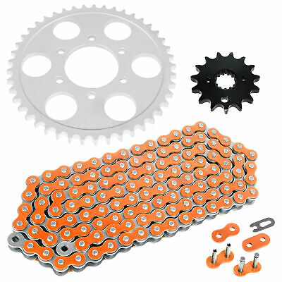 Caltric Drive Chain and Sprockets Compatible With SUZUKI GSF1200 GSF1200S Bandit 1200 1995-2005