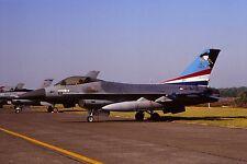 Original colour slide F-16A Fighting Falcon spcl.J-619 of 311 Sqdn. KLu