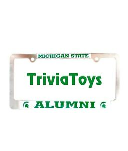 Michigan-State-University-Sparty-Spartans-MSU-Alumni-License-Plate-Frame