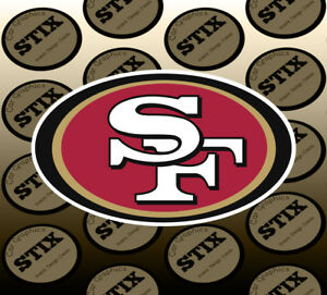 24c1ef2f9e7 San Francisco 49ers Logo NFL Die Cut Vinyl Sticker Car Window Hood ...