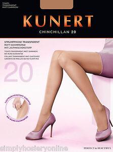 Kunert-chinchillan-no-run-Medias-20-Denier-Transparente-Bajo-Brillo-STOP