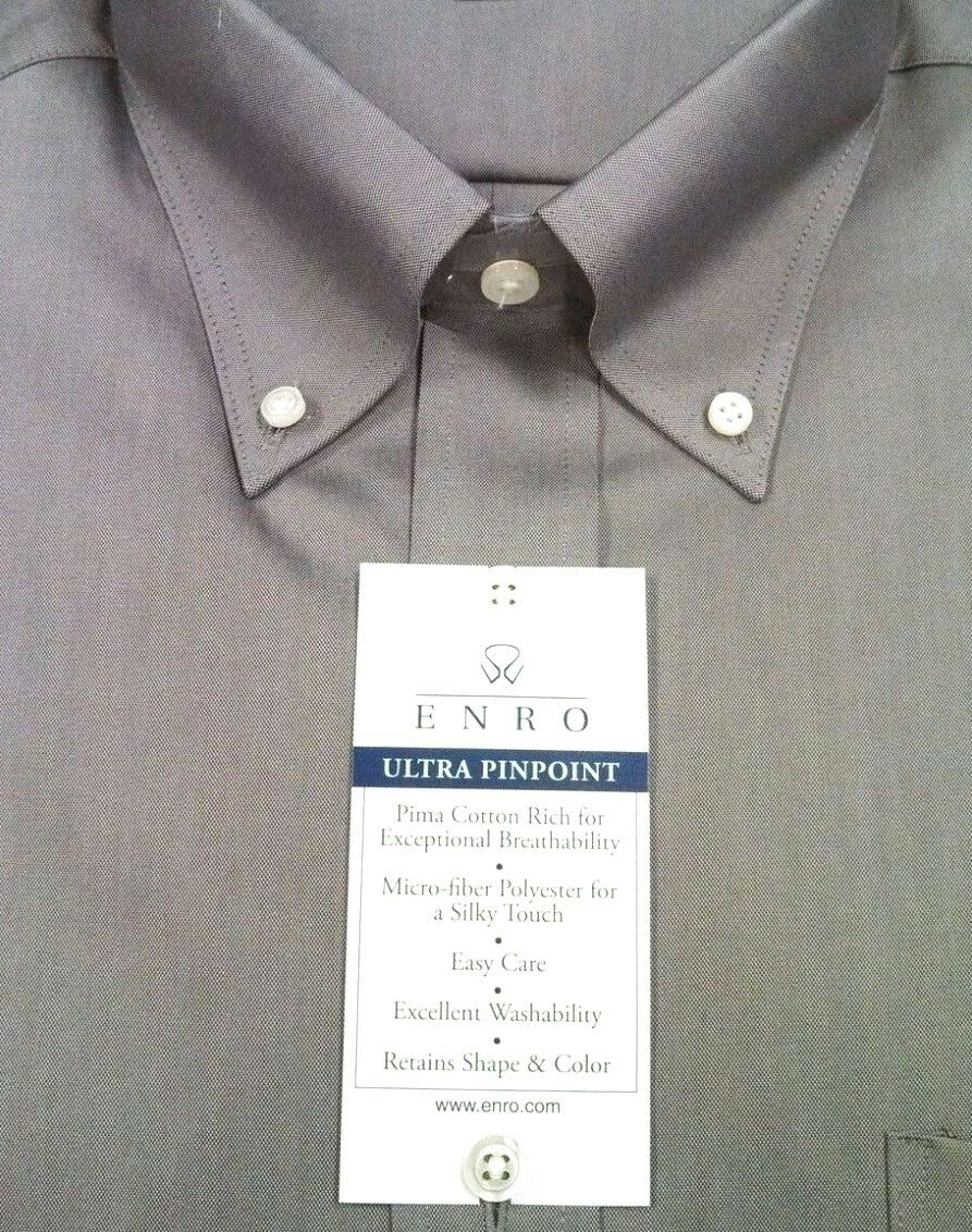 963e814f3f41 Stetson Men's Modern Fit Grey Plaid Long Sleeve Snap Shirt Grey XX-Large